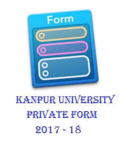 Kanpur University Private Form 2017