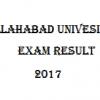 allahabad university result 2017
