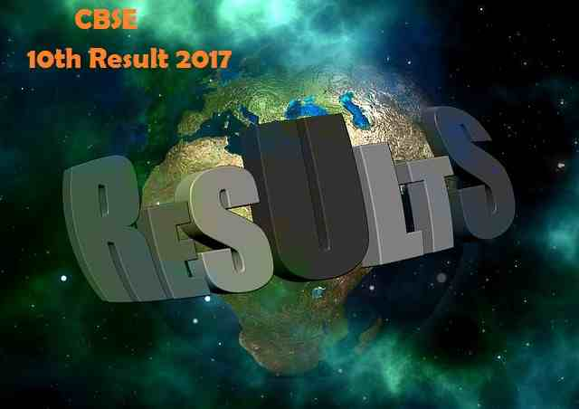 CBSE 10th result 2017