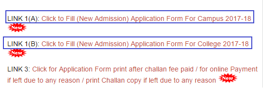 allahabad state university admission
